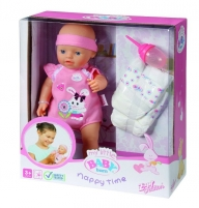 817773 Zapf Creation Baby born Кукла с памперсами и бутылочкой, 32 см Toys for girls
