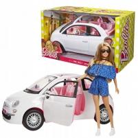 Lėlės automobilis FVR07 FIAT 500 АВТО MATTEL BARBIE