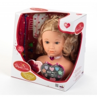 Lėlės galva šukuosenoms   Princess Coralie Make-Up and Hairstyling Head   Klein
