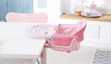 Lėlės kėdutė 701126 Zapf Creation Baby Annabell Table Seat