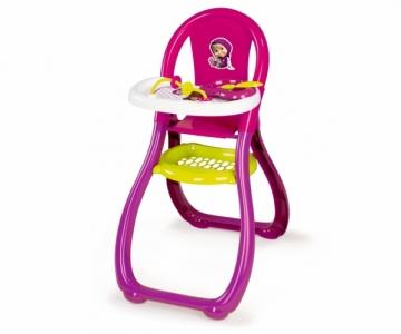 Lėlės maitinimo kėdutė | Maša ir Lokys | Smoby