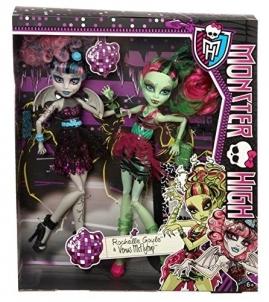 Lėlės Monster High Zombie Shake ROCHELLE GOYLE & Venus McFlytrap BJR17 / BJR15 / X5227