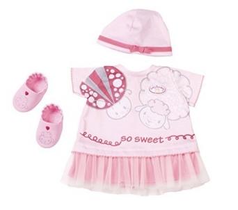 Lėlės rūbai 700198 Baby Annabell Deluxe Summer Dream Outfit Set