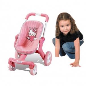 Lėlės vežimėlis | su lėlyte | Smoby