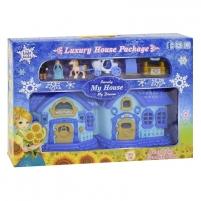 Lėlių namelis Blue ice-duplex villa Žaislai mergaitėms