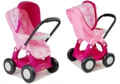 Lėlių vežimėlis, rožinis