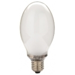 Lempa gyvsidabrio E27 80W, 4100K, 230V, 3200lm, 3500h, elipsė matinė(HDM), Duralamp 1D0080MR Mercury-sodium vapour lamps
