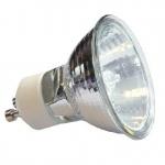 Lempa halogeninė GU10 20W, 3000K, 230V, 60°, 2000h, GTV HL-GU1038-20 Halogēnu lampas