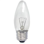 Lempa kaitrinė, burbuliukas, E27 40W, 240V, 400lm,1000h, Iskra Kaitrinės lempos