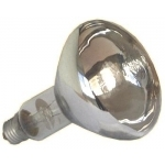 Lempa kaitrinė, šildymo, E27 250W, 240V, balta (viščiukams), Iskra ikz-250 Incandescent lamps