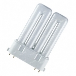 Lempa kompaktinė 2G10 24W 3000K, 4pin. Liuminisencinės lempos