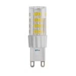 Lempa LED G9 5W, 3000K, 220-240V/AC, 420lm, 360°, SMD2835, GTV LD-G9P5W0-30 Šviesos diodų (LED) lempos