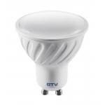Lempa LED GU10 7,5W, 3000K, 230V, 570lm, 120°, 40000h, SMD-2835, GTV LD-PC7510-30