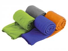 Lengvas mikropluošto rankšluostis Drylite micro towel L 120 x 60 Oranžinė