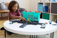 Lenktynių trasa GKT86 Hot Wheels City Town Center Play Set Car racing tracks for kids