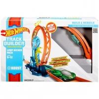 Lenktynių trasa GLC90 / GLC87 Mattel Hot Wheels Конструктор трасс Петля с ускорителем