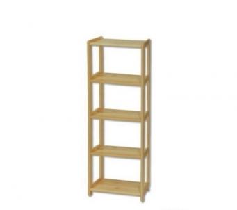 Lentyna RG122 (40,50,60x163x30 cm) Wooden shelves