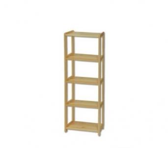 Lentyna RG123 (40,50,60x163x30 cm) Wooden shelves