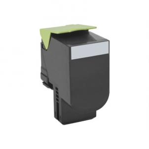 Lexmark 80x Black Toner Cartridge Return Program (2.5K) for CX410de, CX410dte, CX410e, CX310dn, CX310n, CX510de Toneriai ir kartridžai