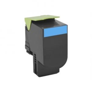 Lexmark 80x Cyan Toner Cartridge High Return (3K) for CX410de, CX410dte, CX410e, CX310dn, CX310n, CX510de, CX510dhe