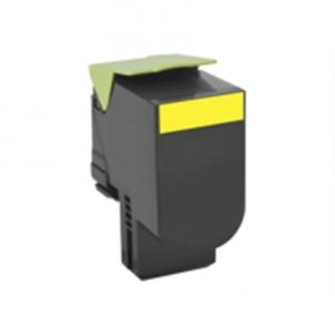 Lexmark 80x Yellow Toner Cartridge High Return (3K) for CX410de, CX410dte, CX410e, CX310dn, CX310n, CX510de, CX510dhe