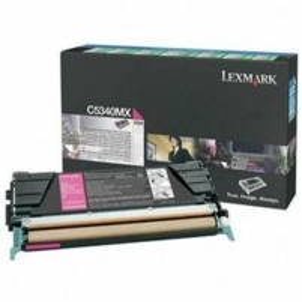 Lexmark C534 Magenta Return Programme Toner Cartridge (7K) for C534dn / C534dtn / C534n