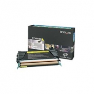 Lexmark C736, X736, X738 Yellow High Yield Return Programme Toner Cartridge (10K) for C736dn / C736dtn / C736n