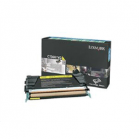 Lexmark C736, X736, X738 Yellow High Yield Return Programme Toner Cartridge (10K) for C736dn / C736dtn / C736n