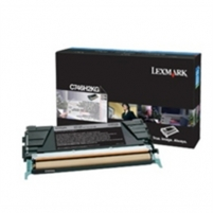 LEXMARK C746, C748 BLACK HY TONER CART.