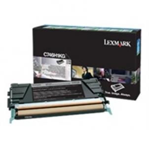 Lexmark C74x Black Return Programme Toner Cartridge Toneriai ir kartridžai