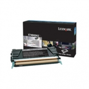 Lexmark X746, X748 Black Corporate Toner Cartridge (12K)