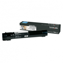 Lexmark X950, X952, X954 Black Extra High Yield Toner Cartridge (38K) for X950de / X952de / X952dte / X954de / X954dhe