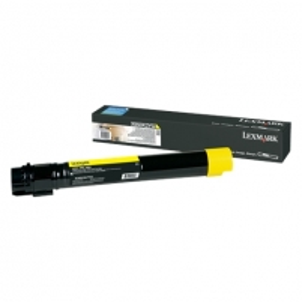 Lexmark X950, X952, X954 Yellow Extra High Yield Toner Cartridge (24K) for X950de / X952de / X952dte / X954de / X954dhe