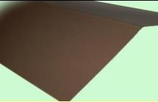 Lietskardė 65x50 mm (poliesteris) spalvotas