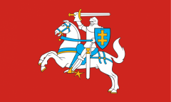 Lietuvos istorinė vėliava 100x170 cm Vėliavos ir priedai