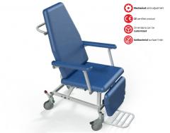 Ligonio transportavimo vežimėlis TSC Ratiņkrēslos pieaugušajiem