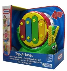 little tikes 616396 Tap-A-Tune 2 in 1 Musical Snail Muzikiniai žaislai