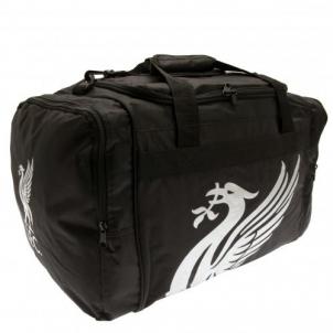 Liverpool F.C. kelioninis krepšys (Juodas)