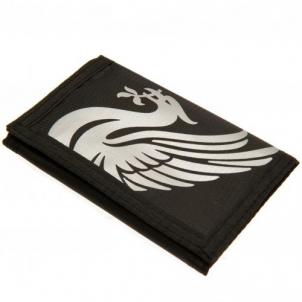 Liverpool F.C. piniginė (Juoda) Atbalstītājs merchandise