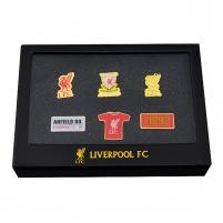 Liverpool F.C. prisegamų ženklelių rinkinys
