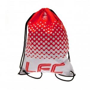 Liverpool F.C. sportinis maišelis (Raudonas/Baltas)