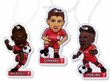 Liverpool F.C. žaidėjų formos oro gaivikliai