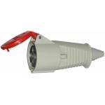 Lizdas 4P, 16A, nešiojamas, IP44, 2627-326 Industrial sockets