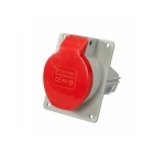 Lizdas 5P, 16A, įleidžiamas į panelę, IP44, 2622-620 Industrial sockets