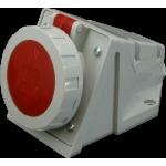 Lizdas 5P, 16A, stacionarus, IP67, IZG 1653 Industrial sockets