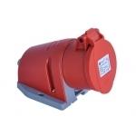 Lizdas 5P, 32A, paviršinis, IP44, TP-ELECTRIC 3107-307-1600 Rūpniecības ligzdas