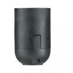 Lizdas lempai E14, pakabinamas, karbolitinis, juodas, H10P Elektros patronai, lizdai