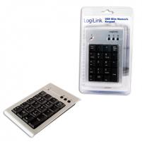 Logilink ID0008, USB Keypad 19 Keys, Additional Keypad for Laptops Numeric keypad Nešiojamų kompiuterių priedai