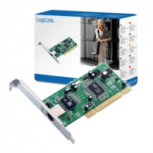 Logilink PC0012, PCI card 10/100/1000 LAN MBit Modules transiver computers