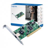 Logilink PC0012, PCI card 10/100/1000 LAN MBit